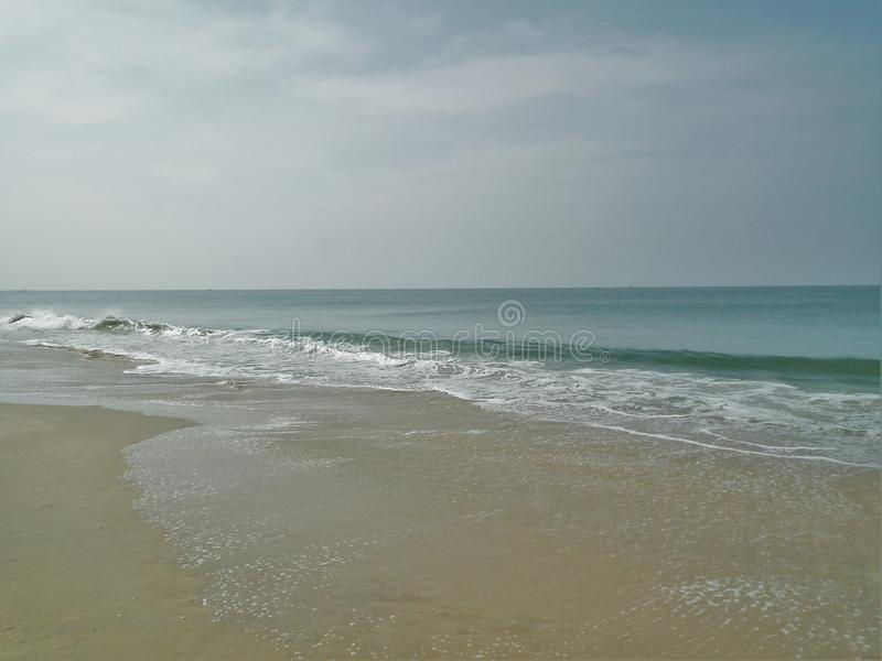 Goa kolangut Strand stock foto's