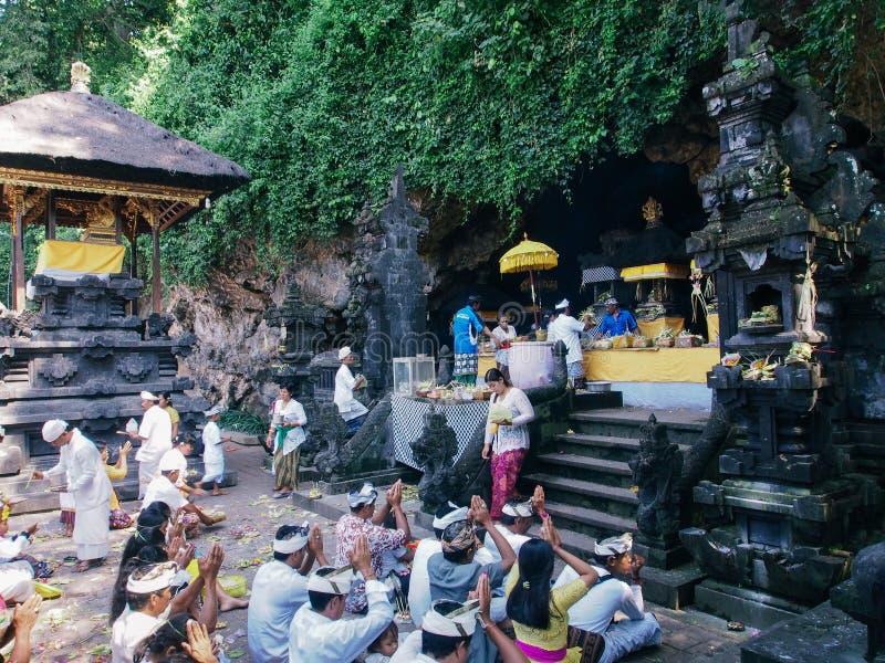 Goa Lawah Temple stock photo