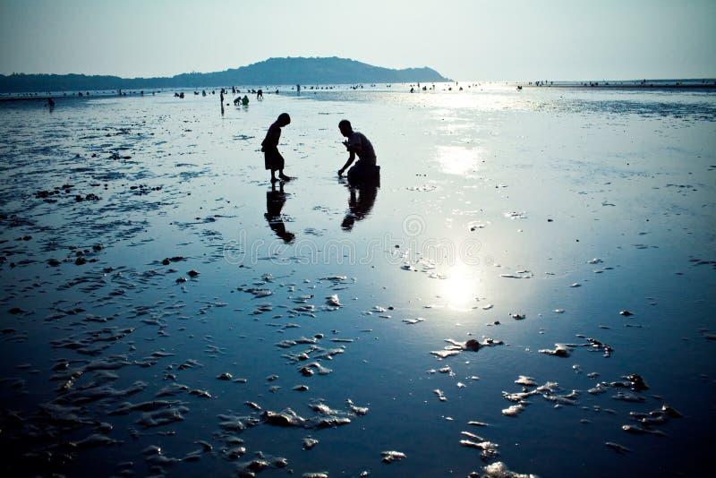 Goa Silhouette royalty free stock image