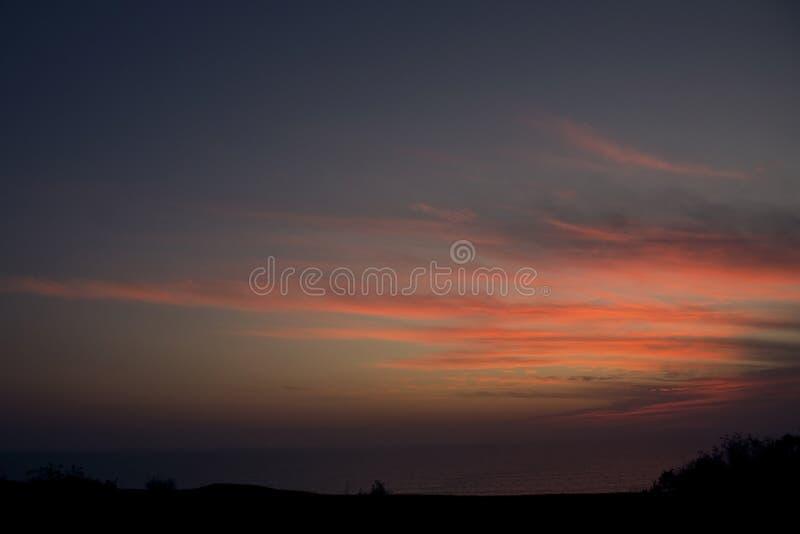 goaindia solnedgång royaltyfria foton