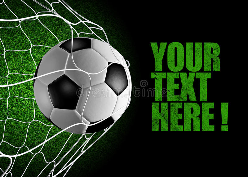 Download Goal ! stock illustration. Image of ball, sport, object - 14457792
