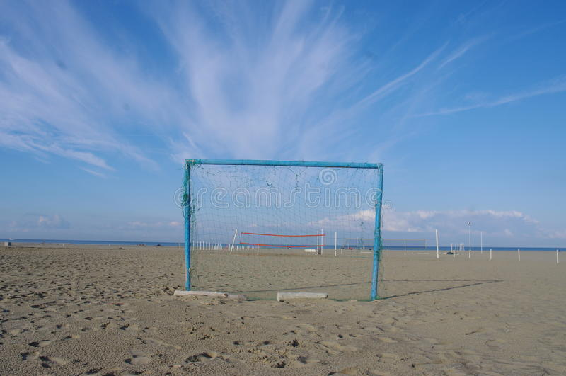 Goal Beach Summer Royalty Free Stock Image