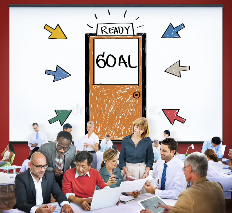 Goal Expectations Aim Opportunity Success Concept.  stock photos