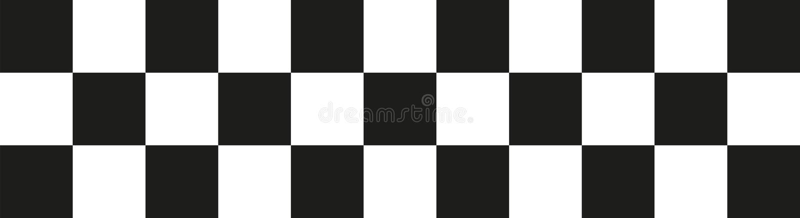 Goal flag. Vector sports icon royalty free illustration