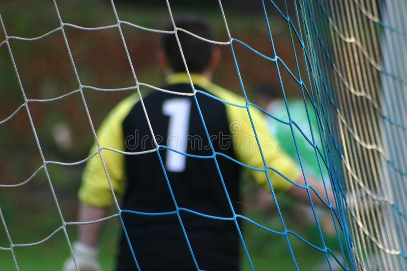 Download Goal keeper #2 stock image. Image of soccer, winning, star - 1374443