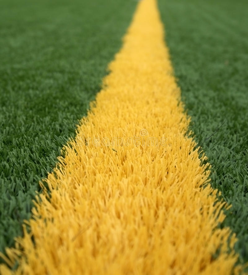 Goal Line Royalty Free Stock Image