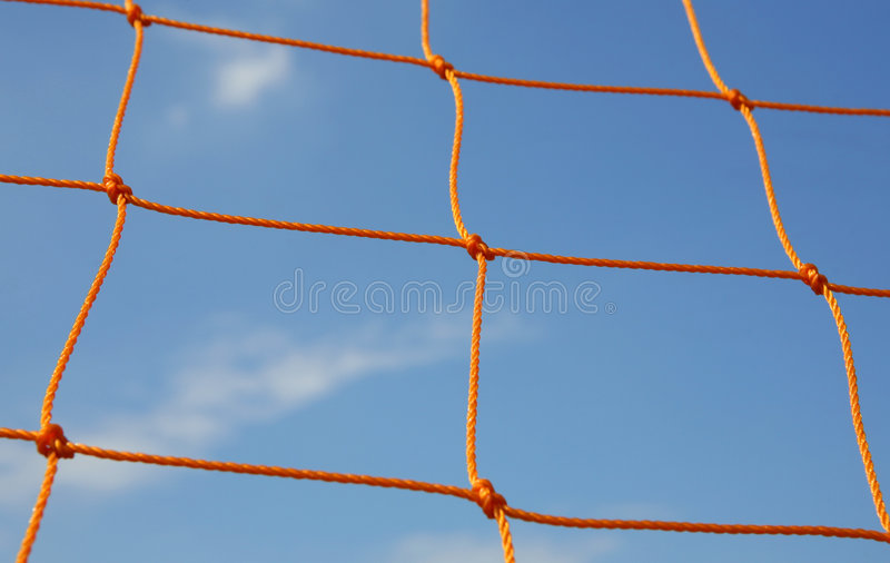 Goal Net royalty free stock image