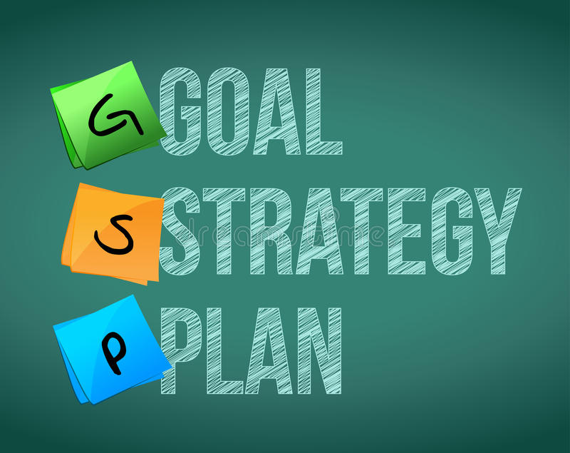 Download Goal policy strategy plan stock illustration. Image of showing - 29089417