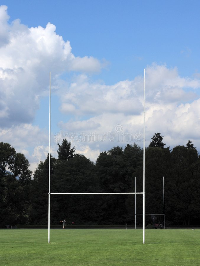 Goal Posts stock photos