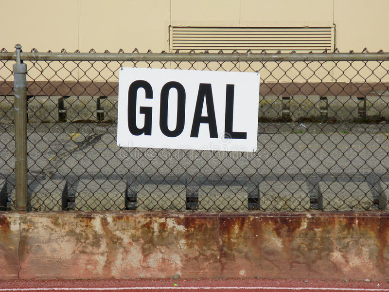 Download Goal Sign stock photo. Image of block, cyclone, sign - 14507596