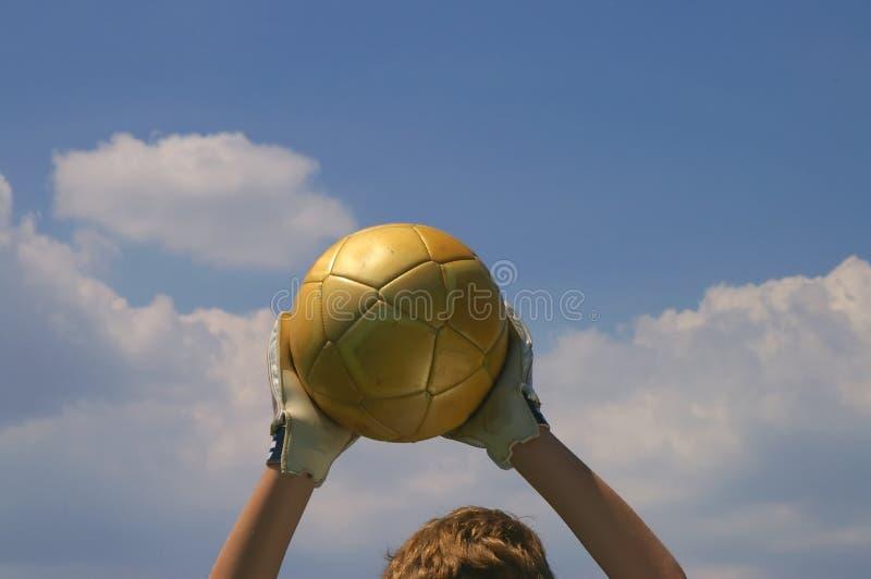 goalie αγαθό στοκ εικόνα με δικαίωμα ελεύθερης χρήσης