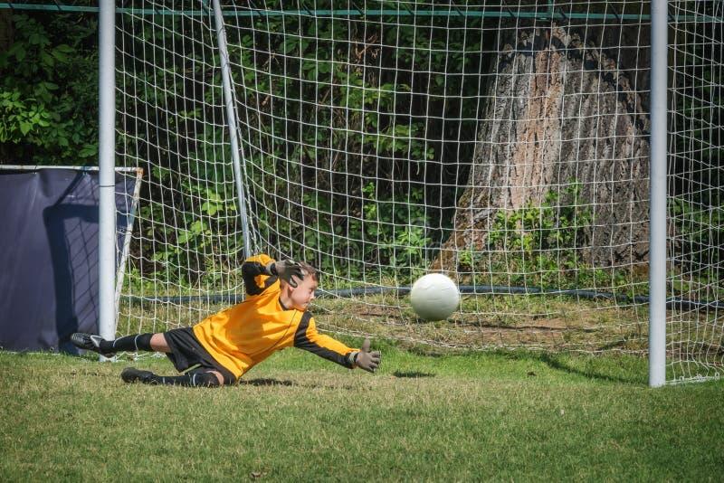 goalkeeper royalty-vrije stock foto