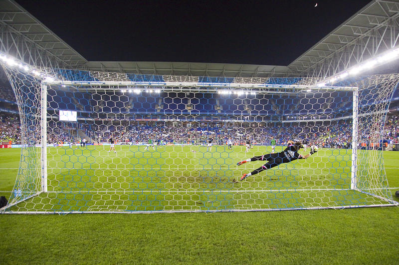 goalkeeper fotografia de stock royalty free