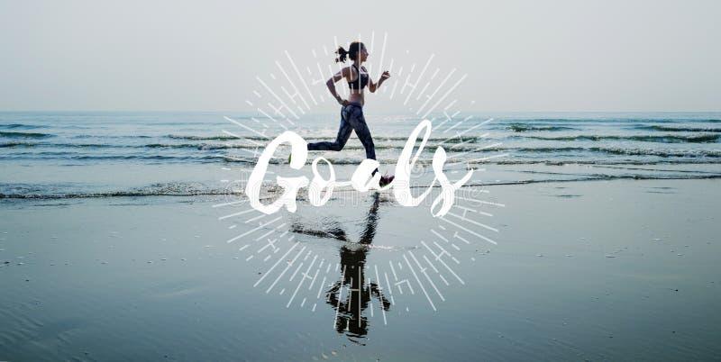 Goals Inspiration Success Target Concept stock image