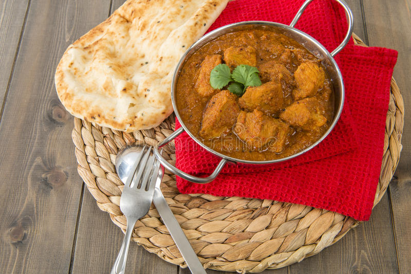 Download Goan Pork Vindaloo stock photo. Image of meat, metal - 28896302
