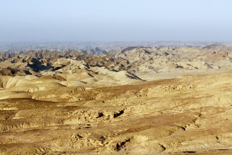 Goanikontes est situé dans un paysage comme lunaire photos stock
