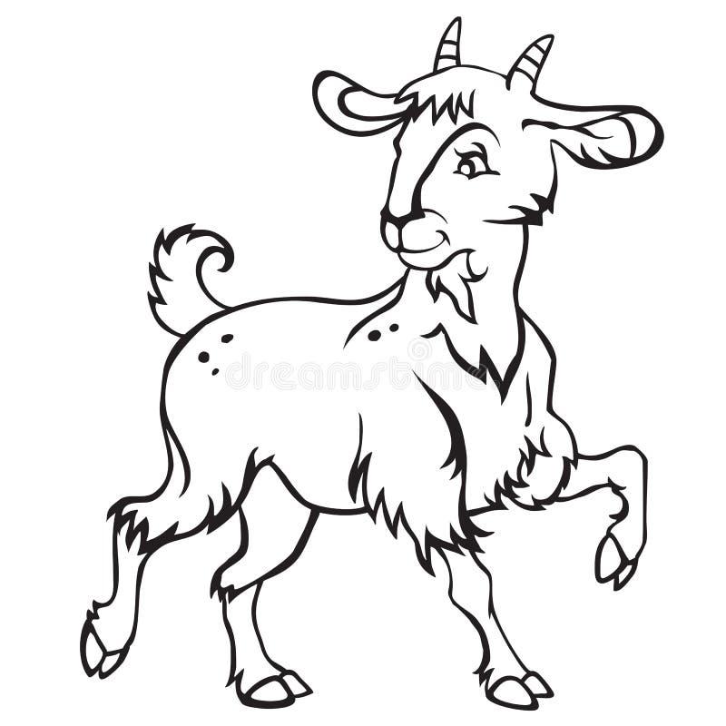 Goat-2 vektor abbildung