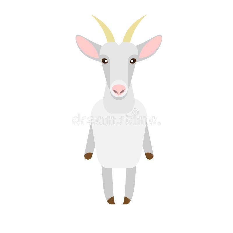 Download Goat stock vector. Illustration of white, vector, design - 33884920