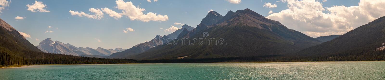 Goat Pond in Kananakis Country near Canmore Alberta. Canada royalty free stock photography
