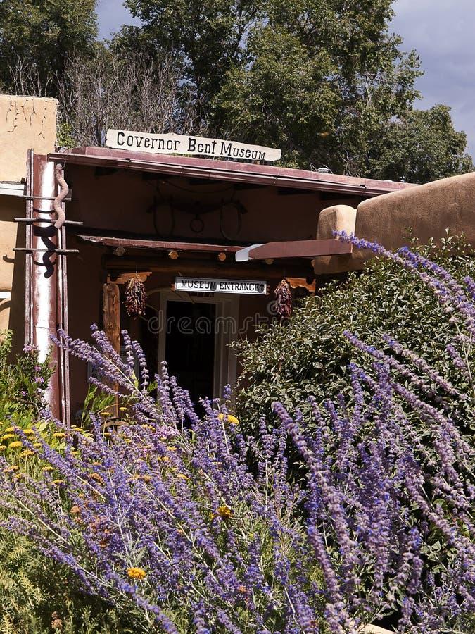 Gobernador Bents House en Taos New México fotografía de archivo