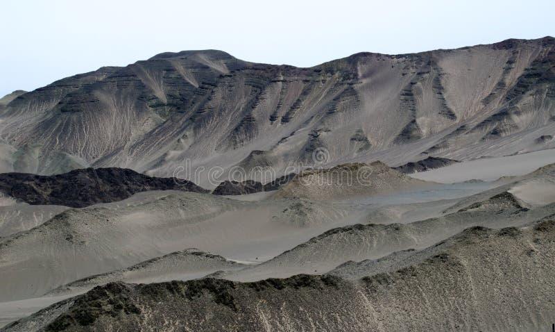 The Gobi Desert in CHINA. The Gobi Desert in xinjiang province northwestern CHINA royalty free stock image