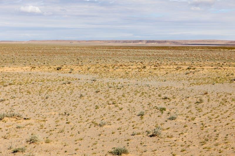 Gobi desert mongolia. Beautiful desert landscape of the Gobi desert, Mongolia stock photography