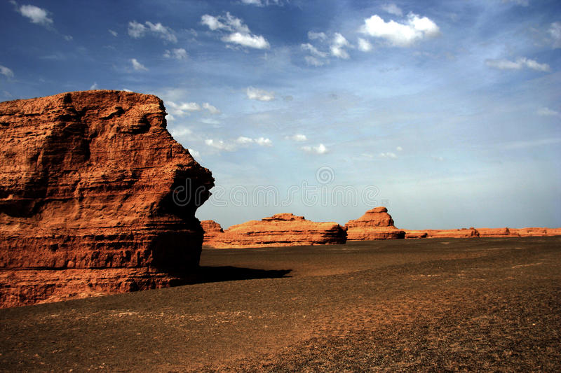 Desert Gobi royalty free stock images