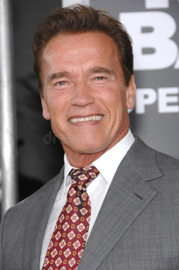 Gobierno Arnold Schwarzenegger fotos de archivo libres de regalías