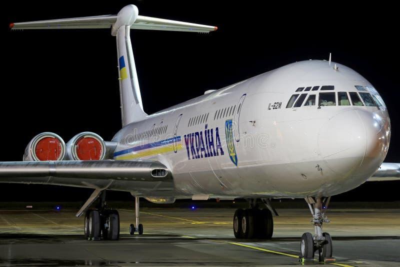 Gobierno Il-62 de Ucrania fotografía de archivo libre de regalías