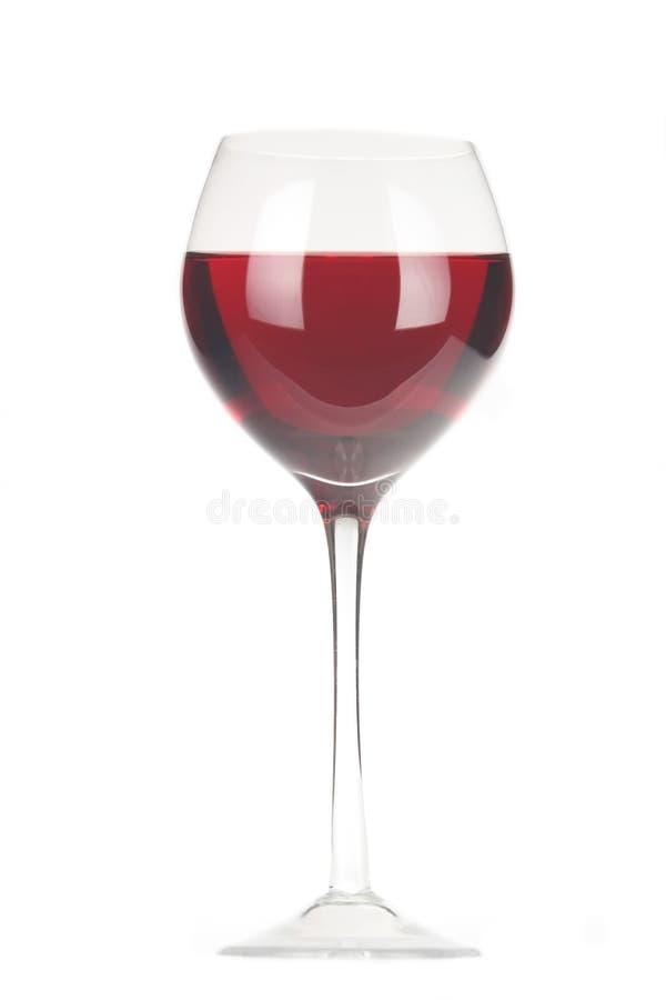 goblet κόκκινο κρασί στοκ εικόνα
