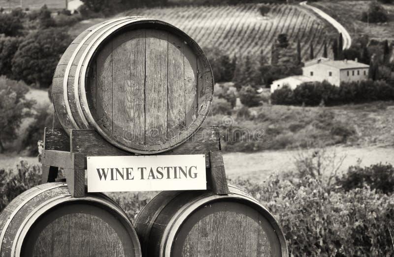 goblet δοκιμάζοντας κρασί χεριών στοκ εικόνες με δικαίωμα ελεύθερης χρήσης