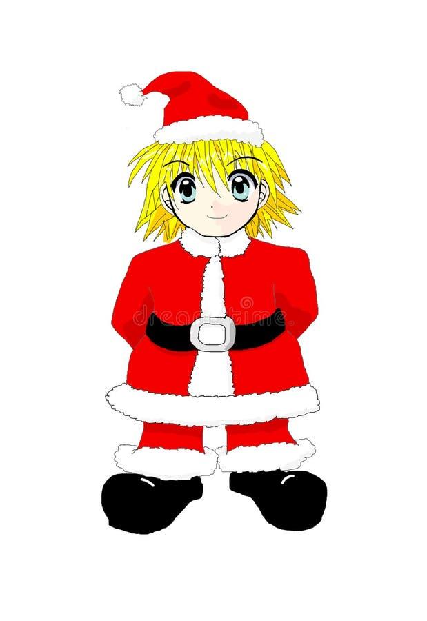 Download Goblin of christmas stock illustration. Illustration of comics - 7428719