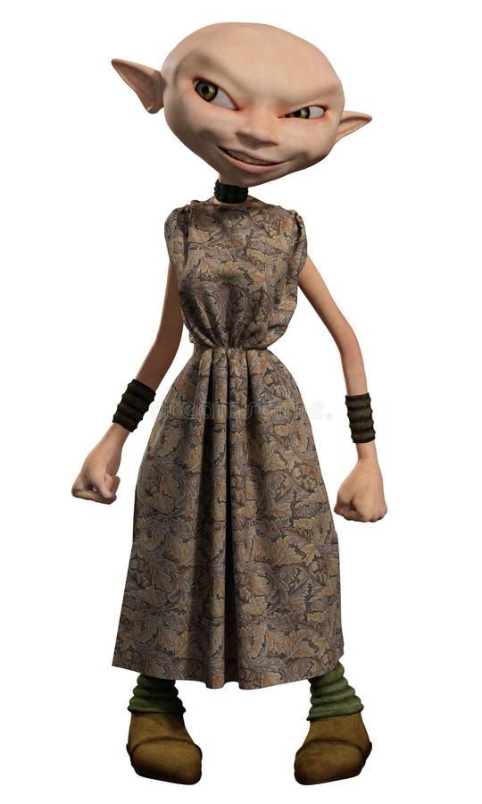Free Goblin Servant Girl Royalty Free Stock Images - 32185049
