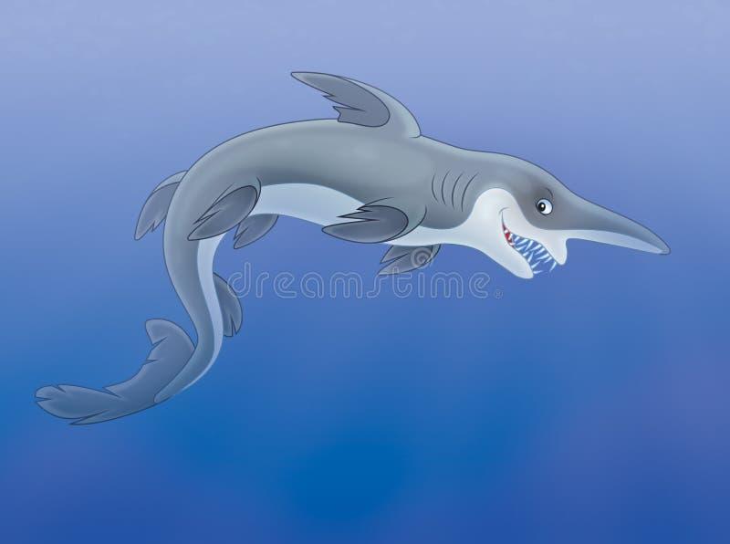 Goblin shark stock illustration