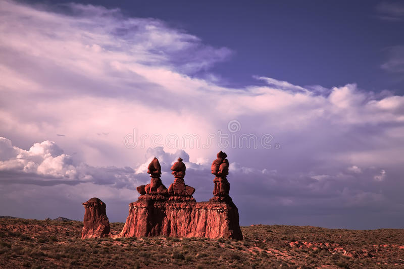 Goblin Valley royalty free stock images