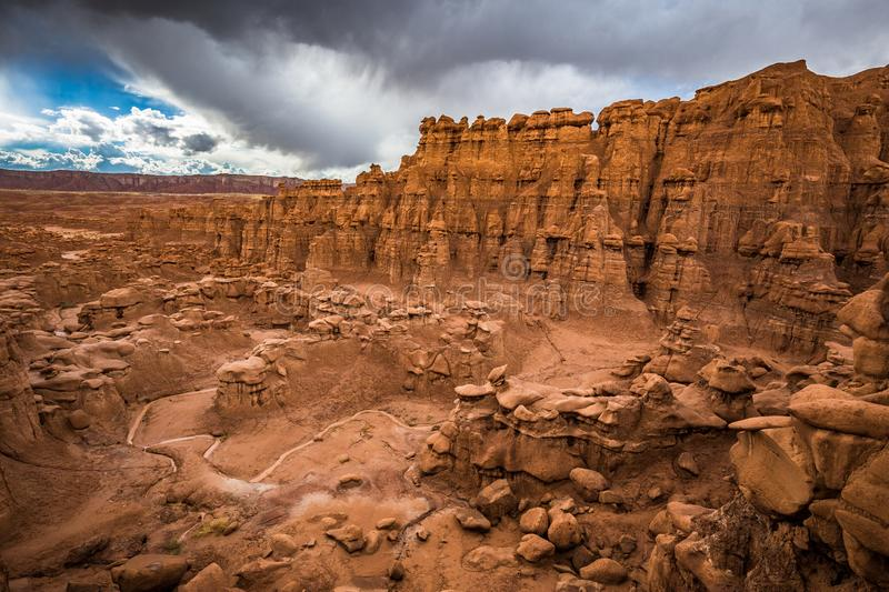 Goblin Valley State Park, Utah, USA royalty free stock images