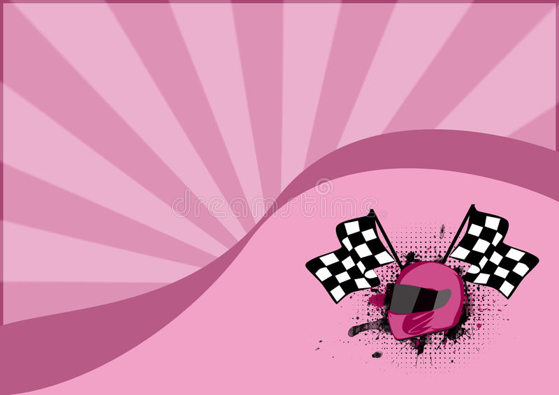 Gocart background stock illustration