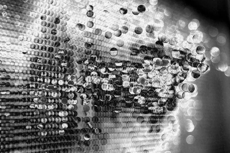 Gocce del fondo del metallo fuso fotografia stock