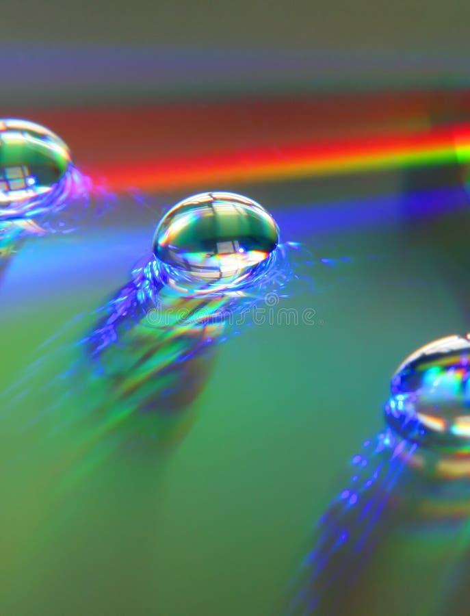 Gocce Del Rainbow Immagini Stock