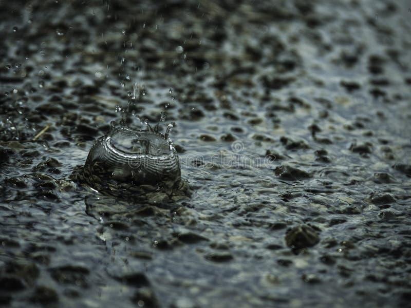 Gocce di acqua fotografie stock libere da diritti