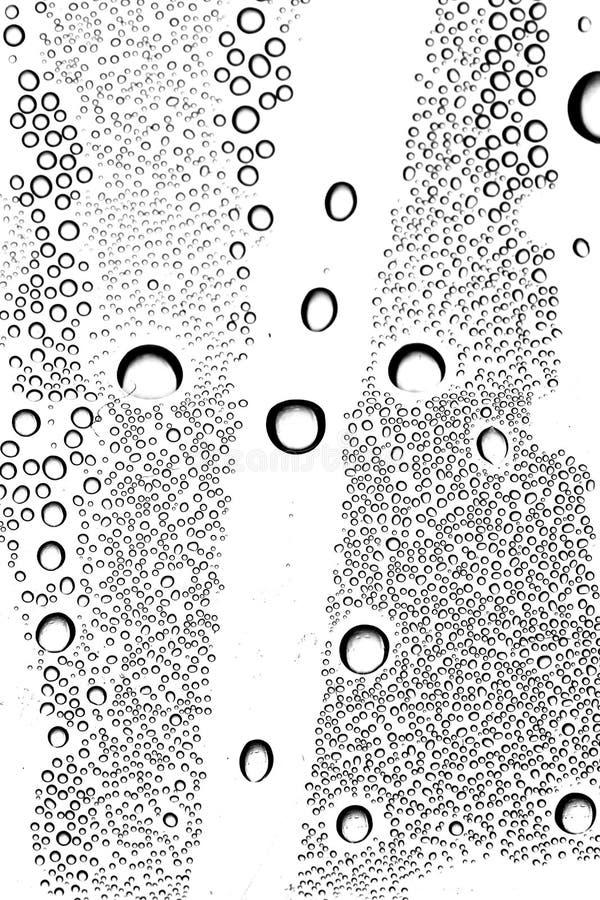 Gocce di acqua di condensazione fotografia stock