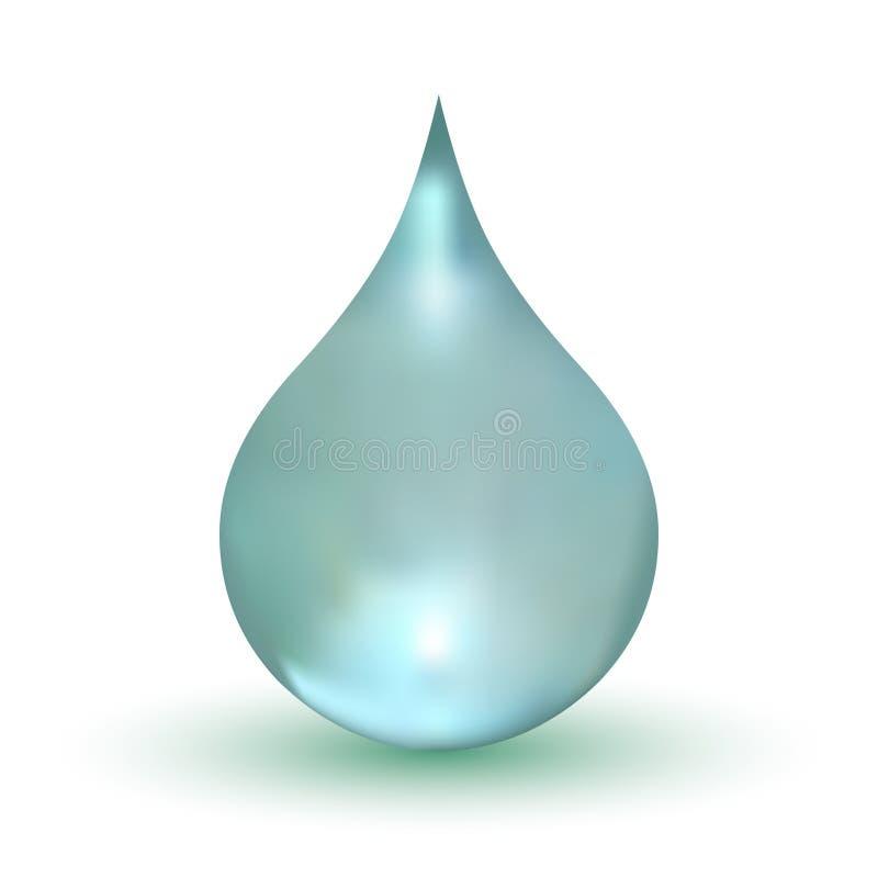 Goccia dell'acqua illustrazione vettoriale