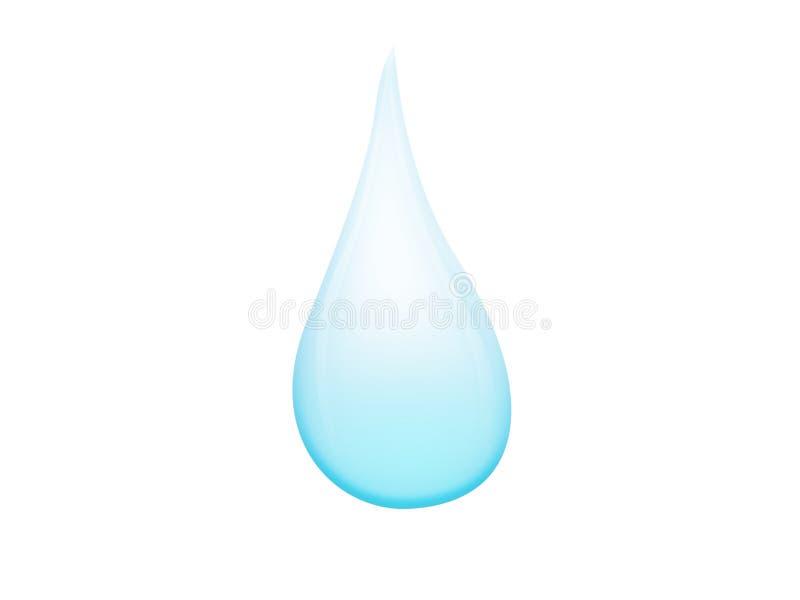 Goccia di acqua illustrazione vettoriale