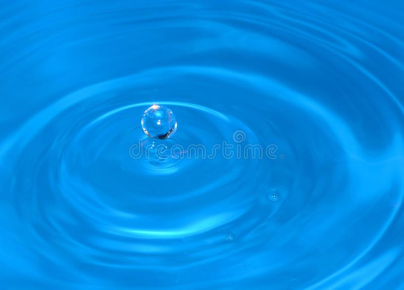 Goccia di acqua immagine stock