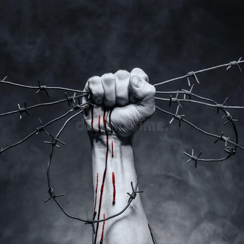 Goccia di sangue immagine stock libera da diritti