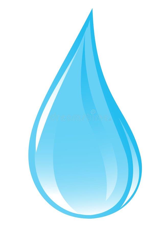 Goccia libera dell'acqua royalty illustrazione gratis