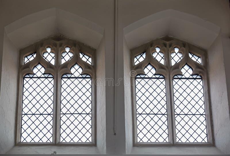 Goccy okno St Matthew kościół sykl South Yorkshire england fotografia stock