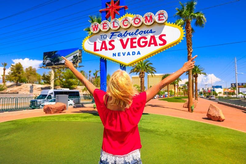 Goce de la muestra de Las Vegas fotografía de archivo