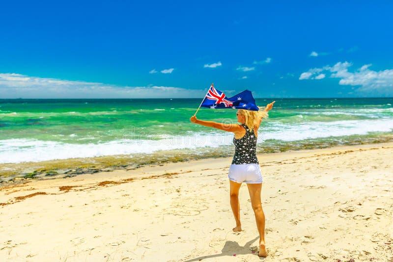 Goce de las playas de Perth foto de archivo libre de regalías