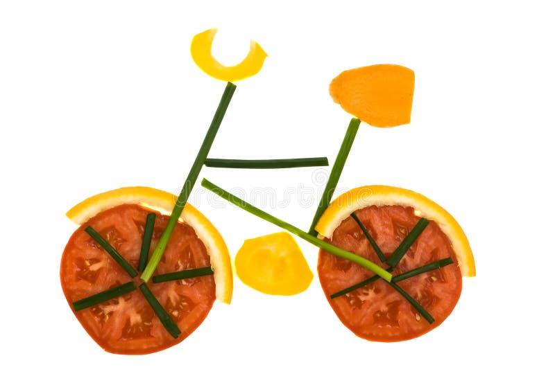 Gocery Fahrrad lizenzfreie stockbilder